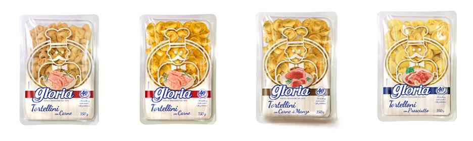 Tortellini, Gloria, Mortadella, Gefüllte Teigwaren