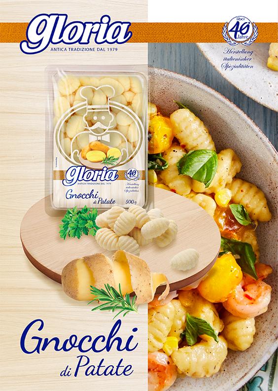 Gnocchi, Gloria, Kartoffelbällchen, Gnocchi di Patatepatate